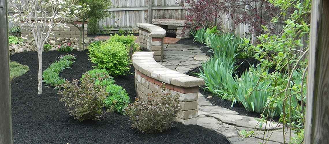 Landscape Project in Gahanna, Ohio