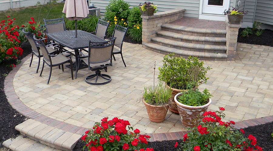 Paver Patios   Landscaping Outdoor Kitchens Outdoor Living In Columbus Ohio