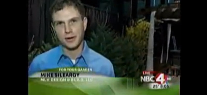 Mike Sileargy, owner of MLH Design & Build Featured on For Your Garden Segment