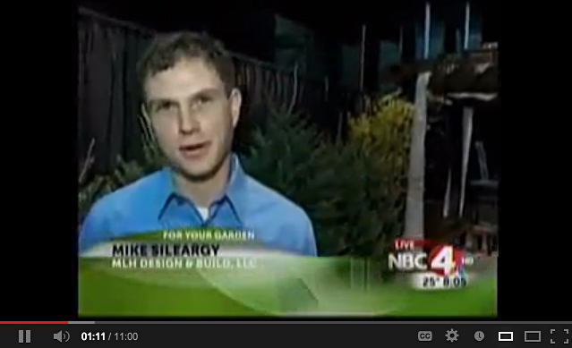 Mike Sileargy, Owner Of MLH Design U0026 Build Featured On For Your Garden  Segment