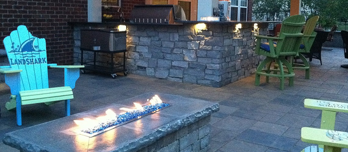 MLH Design & Build installs award winning paver patios in Central, Ohio!