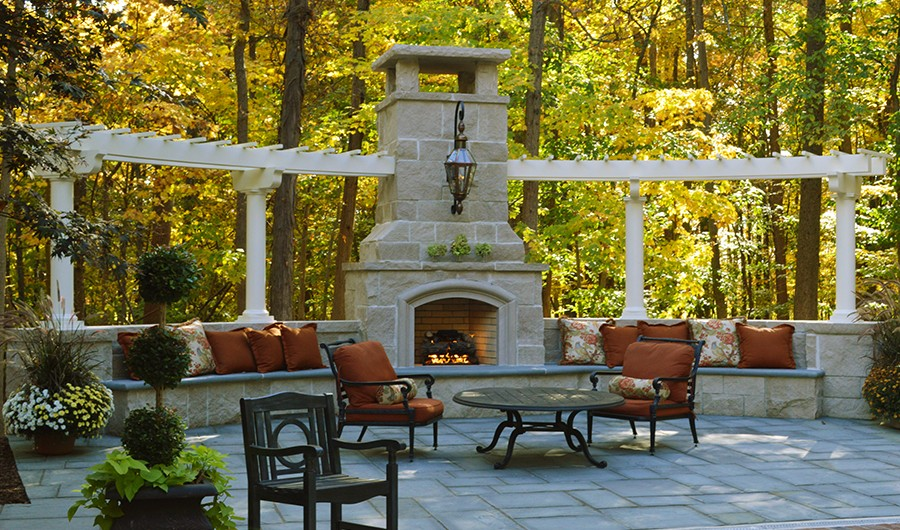 Outdoor Fireplaces Landscaping Outdoor Kitchens Outdoor Living In Columbus Ohio