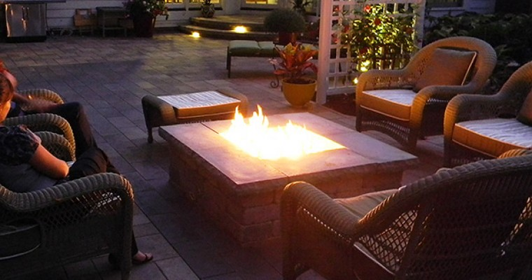 Fire Table is Focal Point of Outdoor Living