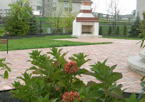Full Landscape Project in Grove City, Ohio