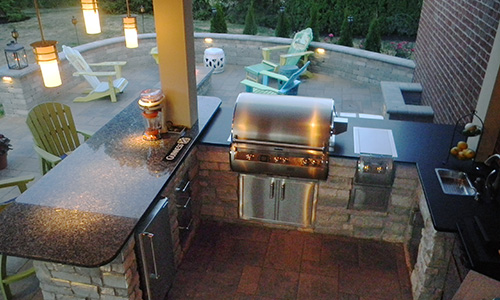 columbus ohio outdoor kitchen