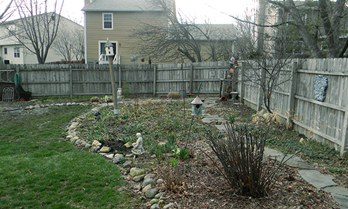 gahanna ohio landscaping project