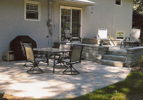 Stone Patio in Gahanna, Ohio