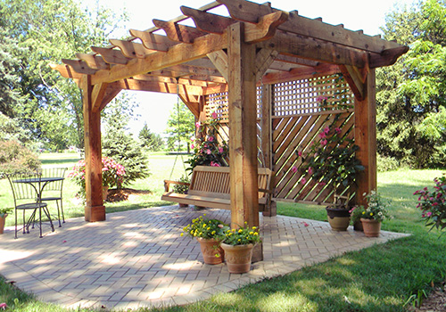... Your Own Pergola Download design plans potting bench – woodguides